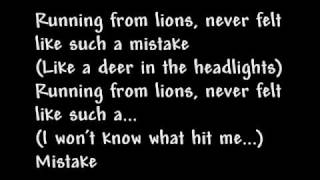 Running From Lions - All Time Low (Lyrics)