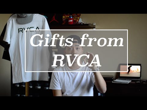 Gifts from @RVCA 😍😍😍