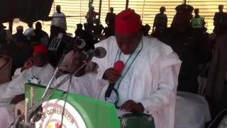 preview picture of video 'Deputy governor of kano represent HE Gov Rabiu Musa kks at kano Int'l  trade fair'
