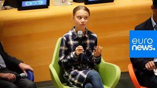 Live | Teenage Activist Greta Thunberg Gives Speech At UN Youth Climate Summit