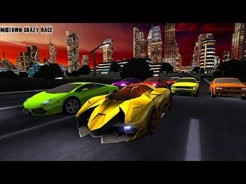 Midtown Crazy Race Wii U
