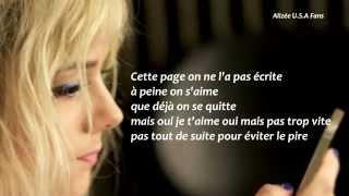 Alizée - Tweet (Lyric Video) [HD]