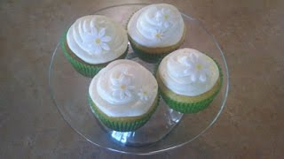 Three Lemon Cupcakes