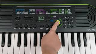 REVIEW: Best budget electronic keyboard - Casio SA-46