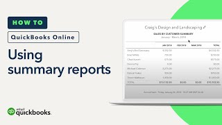 How to Use Summary Reports: Summaries & Information