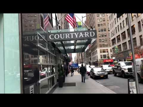 Courtyard New York Times Square West Hotel Review