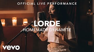 Lorde - Homemade Dynamite (Vevo x Lorde)