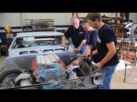 LS V12 Header & Under Car Exhaust Build