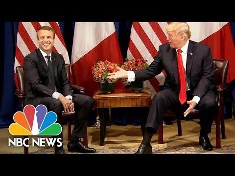 Donald Trump Tells Macron He's Considering July 4th Parade Similar To Bastille Day | NBC News