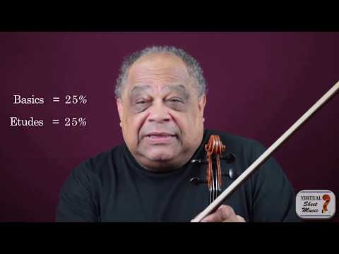 Setting up your violin practice schedule
