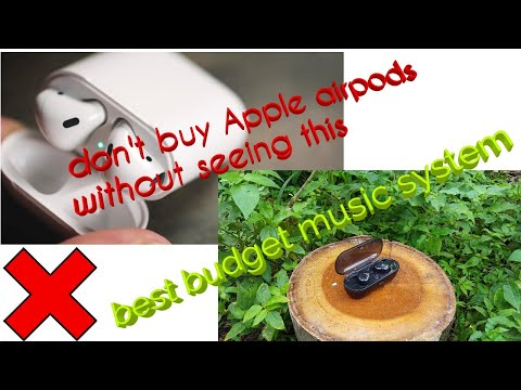 Unboxing of truly wireless water proof earbud