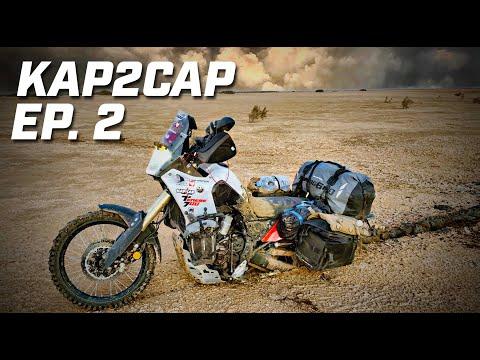 Cap Nord to Capetown ► 26.000 km en Ténéré 700 ►épisode 2