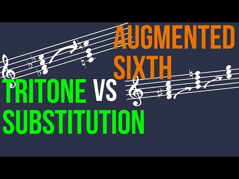Tritone Substitution vs Augmented 6 Chords - Q&A #3