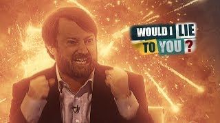 Mitchellian rants and outbursts - David Mitchell on Would I Lie to You?