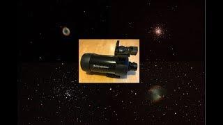 Deep Sky Object Astrophotography using a 90mm Maksutov telescope