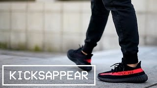 9d1a59a4785db yeezy v2 red on foot - Free video search site - Findclip
