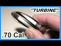 Download Video Custom Aluminum TURBINE Shotgun Slugs  -Testing