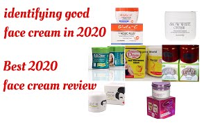 Best Face Cream Products For 2020||How To Identify An Original Face Cream || #antiaging