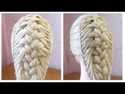 Coiffure Avec Tresse Tuto Coiffure Cheveux Longs Mi Long