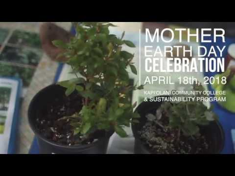 Mother Earth Day Celebration at Kapiʻolani Community College