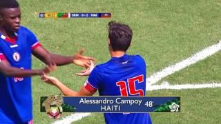 Highlights: Haiti U-20 vs St Kitts & Nevis U-20