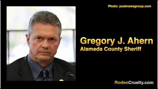 Alameda County Sheriff Protects Rodeo Thugs