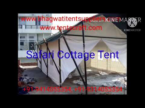 Safari Swiss Cottage Tent