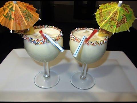 Jinsi Ya Kutengeneza Cocktail Ya Pina Colada Nyumbani