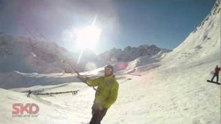 SNOW KITE MASTERS SuperKiteDay (Hill gliding/Freestyle)