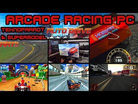 Arcade Racing PC - Teknoparrot 1 86 & Supermodel SVN 761