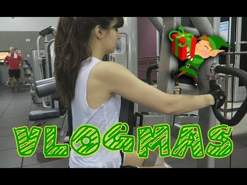 Work Out with Me! -Vlogmas Day 15