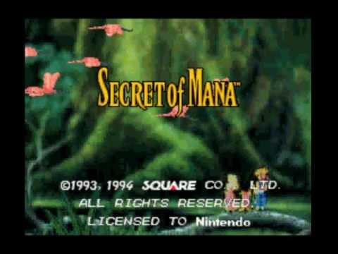 Secret of Mana - Vidéo d'intro