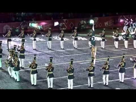 Pakistan performs at Spasskaya Tower 2015 International Military Music Festifal Moscow 2015