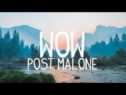 Post Malone - Wow. (Clean - Lyrics - 1 Hour)