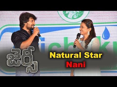 Nani At Jersey Movie Team Success Meet Event
