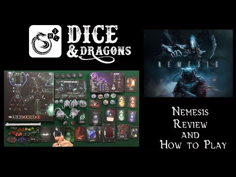 Dice and Dragons - Nemesis Review and How to Play