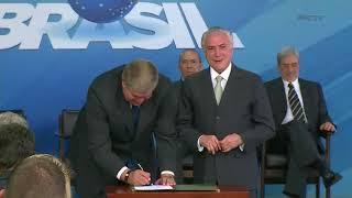 Carlos Marun toma posse como ministro da Secretaria de Governo
