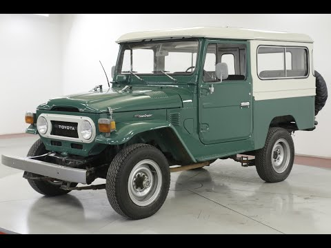 Video of '77 Land Cruiser FJ - QW56