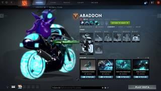 Abaddon - Neon Rider Mod [Dota2mods.com]