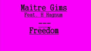 Maître Gims  Freedom Feat. H Hagnum (CDQ- Lyrics-Paroles)