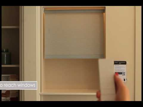 Motorised roller blind video thumbnail