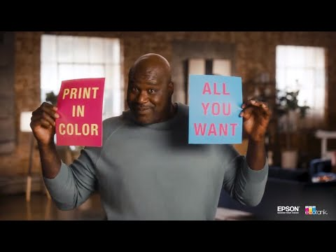 Shaq | Print all the Color You Want
