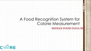 Indian Food Image Segmentation and Classification Systems for Calorie Measurement using FCM & SVM