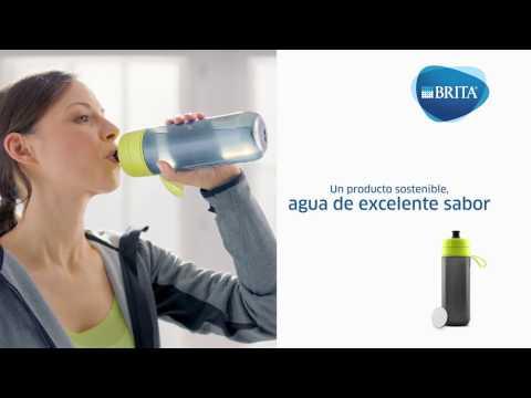 Botella filtrante fill&go Active azul 1 filtro Brita