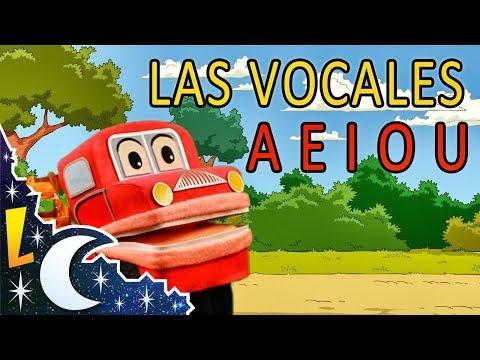 Barney El Camion Cantando Las Vocales A E I O U Video Para Niños