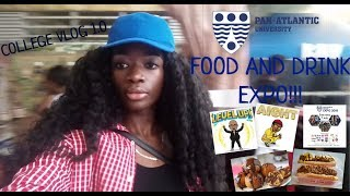 preview picture of video 'College Life: Food and Drink EXPO| COLLEGE VLOG| STEPHANIEALEXX1'