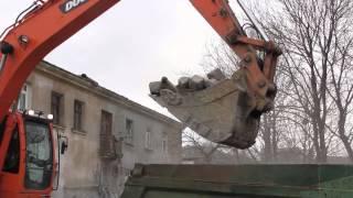 Владивосток. Обрушение жилого дома.