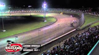 Sprint_Cars - Lakeside2015 Highlights