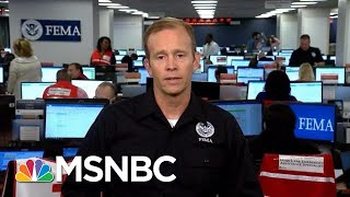FEMA Administrator: Hurricane Florence 'Is Nothing To Be Played With' | Andrea Mitchell | MSNBC