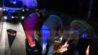 В Николаеве неизвестный автомобиль сбил пешехода и скрылся. Видео